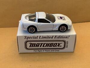"Matchbox Superfast No. 4 '97 Corvette ""Rt. 66 Promotions"" Tampo ASAP Model Boxed"