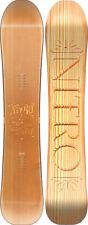 Nitro Snowboard Woodcarver 163 Breite 25,7 neu Came Out Camber 2018 UVP 679,90