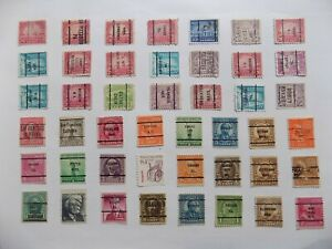U S   Collection of all used PRECANCEL DEFINITIVES -7-29-G-We combine shipping