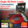 EAGLE 10.5mm Ignition Spark Plug Leads Wires VU Commodore V6 Lead Kit & Heat Sle
