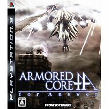 Used PS3 Armored Core: For Answer Japan Import