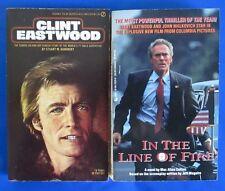 LOT of 2 Clint Eastwood Paperbacks B1 Max Allan Collins Stuart Kaminsky VGN