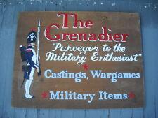Grenadier Models Wood Trade Sign War Games Toy Soldier Shop Dungeons Dragons