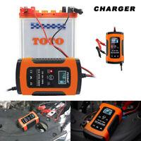 Caricabatterie Mantenitore Batteria Di 6A 12V Con Cavetti Per Auto/Moto IEC60335