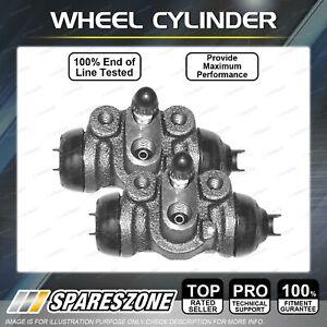 2 Rear Brake Wheel Cylinders LH + RH for Mazda 323 BA BJ 1998-2003