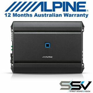Alpine S-A55V 5-Channel Amplifier Alpine