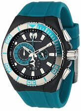 NWT TechnoMarine Men's 112010 Cruise Locker Nylon Strap with Key Ring Watch