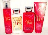 Bath & Body Works Forever Red Body Lotion,Cream, Shower Gel Mist You Choose