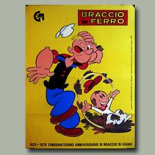 VINTAGE FUMETTI COVER-POPEYE il marinaio e Oliva POSTER A4//A3