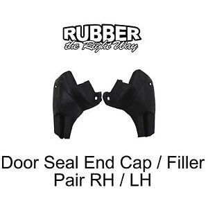 1965 1966 1967 1968 Chrysler 300 Newport New Yorker Imperial Door Seal End Caps