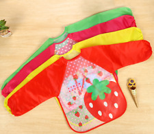 Waterproof Bibs/Aprons with Long Sleeves   6 to 36 mo Old
