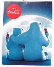 Coca-Cola Polar Bear Supersoft Fleece Blanket 55 x 70 Throw  - BRAND NEW