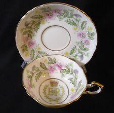 Paragon 1953 Coronation of Queen Elizabeth II tea cup & saucer set #16
