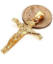 Crucifijo Cadenas de Oro Joyas Joyeria Fina y Prendas de Moda para Hombre