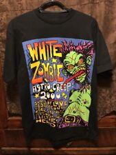 White Zombie Rob ~ Vtg Rare Polygram Astro - Creep 1995 Concert 2 Sided T Shirt