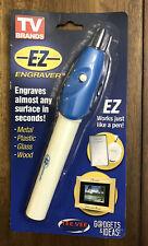 EZ-Engraver Pen Engraves Almost Any Surface in Seconds: Metal, Plastic, Glass