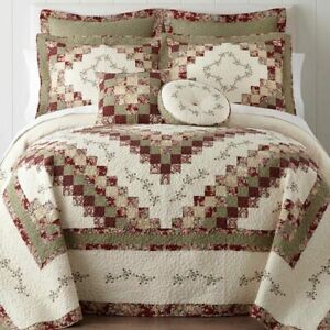 New JC Penney Expressions Cassandra Pieced King Bedspread Only