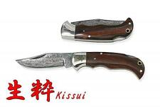 Kanetsune Kissui VG-10 Steel Blade Cocobolo Wood Handle Folding Knife KB-506
