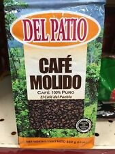 4 Bags of Café Molido Del Patio 100% Puro Puerto Rico Brand Ground Coffee 8.8oz
