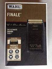 Wahl Finale 5 Star Black Shaver Brand New (damaged Blade)