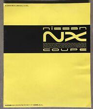 1991 Nissan Pulsar NX Coupe original sales brochure
