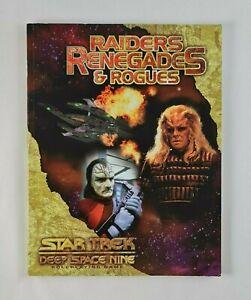 Star Trek Deep Space Nine Roleplaying Game Raiders Renegades & Rogues DS9 RPG