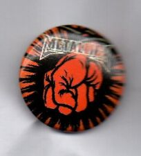 METALLICA BUTTON BADGE AMERICAN HEAVY METAL BAND ROCK Master Of Puppets 25mm