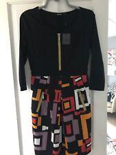 Miusol Colour Block Dress M 12-14 Bnwt