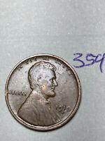 1910-S LINCOLN WHEAT CENT, rare date, fine condition #359