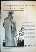 Old Print Austin Reed Regent Street Exceptional Two Guineas Raincoat 1932 20th