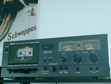 ◄ Akai GXC 725 D - High End Tapedeck Tonband in Schwarz - TOPZUSTAND►