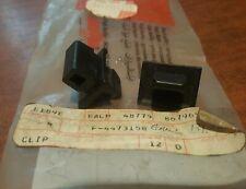 Fiat 131 Super Brava, Argenta grille clip (original Fiat) 4473158