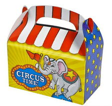 48 CIRCUS PARTY TREAT BOXES FAVORS GOODY BAGS CARNIVAL PRIZE GIFT BASKET BAZAAR