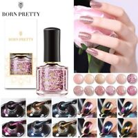 6ML BORN PRETTY Rose Gold Nail Polish Sequined Chameleon Magnetic  Decor