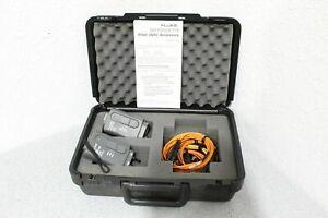 Fluke DSP-FOM/DSP-FTK Fiber Optic Meter Accessory Test Kit 850/1300 Nm FREE S&H