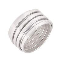 PETRAI Ring, 925 Sterling Silber, Gr. 54 / 17,2 mm, NEU mit OVP, PR1