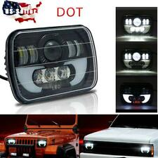 "DOT 7x6"" 300W LED Headlight Sealed Beam For Dodge W250 D150 D250 Van Ram Pickup"