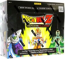 DRAGON BALL Z Heroes and Villians Booster Box Sealed DBZ TRADING CARDS Panini