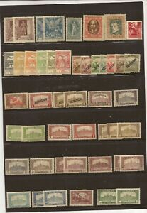 HUNGARY- 1913-ON- Stamps ( Unused/Used) semi-postals/airs/ commems. nothing chec