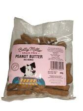 Betty Miller GRAIN FREE PEANUT BUTTER BONES Biscuits Dog Puppy Treat Reward Chew