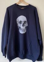 Steinbeck International Skull Sweatshirt - Men's XL - New Without Tags