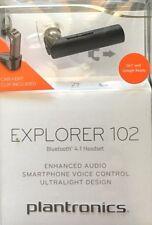 Plantronics Explorer 102 Bluetooth 4.1 Headset HD - Black (205040)™