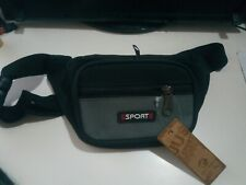 Riñonera unisex de colores con 3 bolsillos monedero bolso viaje mochila Sport