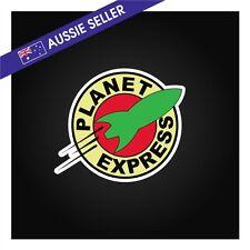 Planet Express Sticker - funny car window joke stick figure family vinyl decal