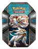 POKEMON TCG: Legends of Alola - Solgaleo GX Card Tin (Pokemon Company) #NEW