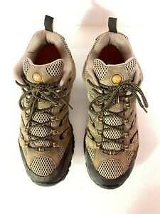 Merrell Mens Moab 2 Vent-J86595 Brown Suede Hiking Shoes Sz 11