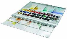Winsor & Newton Cotman 45 Half Pans Studio Watercolour Set