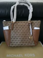 Women's Michael Kors Bedford Shoulder Tote Bag Brand New Colour Brown