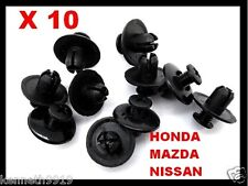 Honda Accord Prelude Push-Type Replacement Black Plastic Clip RetainerT5