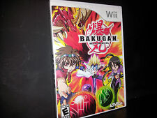 BAKUGAN BATTLE BRAWLERS (Wii) COMPLETE GAME FAST FREE SHIPPING!